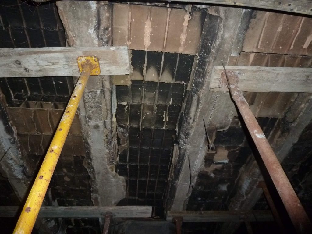 2017 Structural reinforcement due to fire in Motril